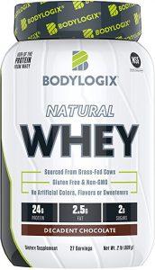 Bodylogix Natural Grass-Fed Whey Protein Powder