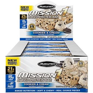 MuscleTech Mission1 Clean Protein Bars