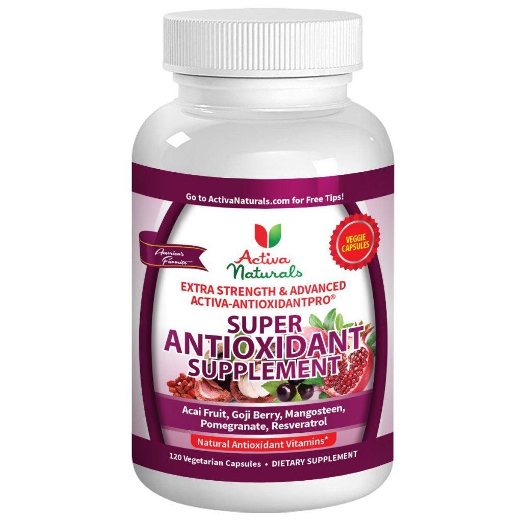 Activa Naturals Super Antioxidant supplement. Antioxidants derived from fruits.