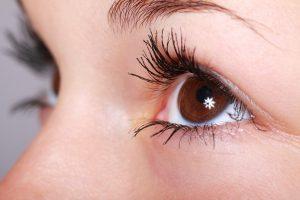Dry eyes at night